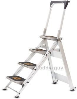 4 Step Little Giant Safety Step Ladder Jumbo 10410b Ebay