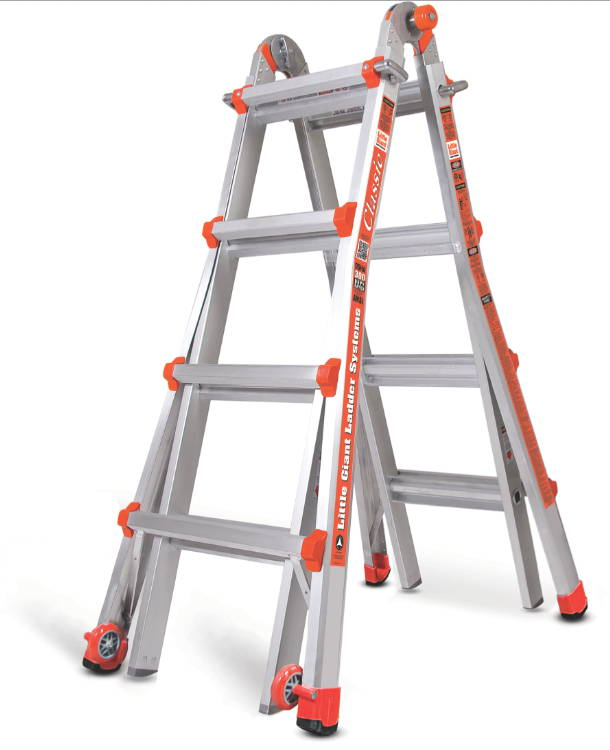 17 1a Little Giant Ladder Classic 10102lg No Accessories New Ebay