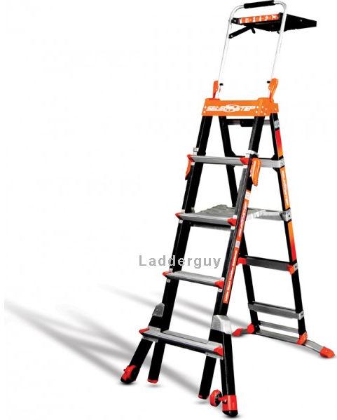 Little Giant Fiberglass Select Step Ladder 375lb Rated 5