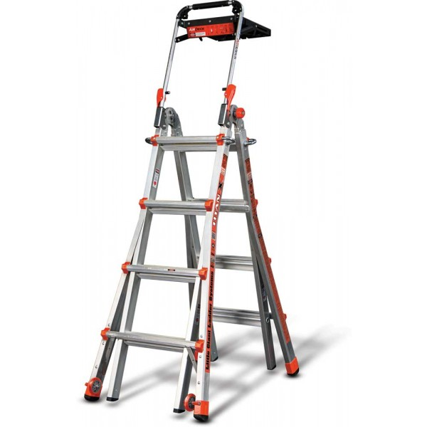Little Giant Titanx Ladder Model 17 With Airdeck