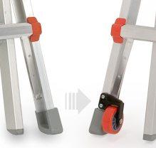 Retro Fit Ladder Wheel Kit For Little Giant Ladders Mainlevel At